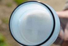 filtro a sedimenti per filtraggio acqua nei serbatoi di camper e caravan