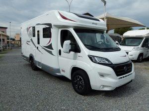 Elnagh Baron 560 camper semintegrale con garage