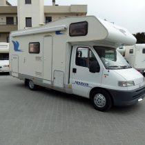 Elnagh Marlin 65G camper mansardato garage usato vendita como