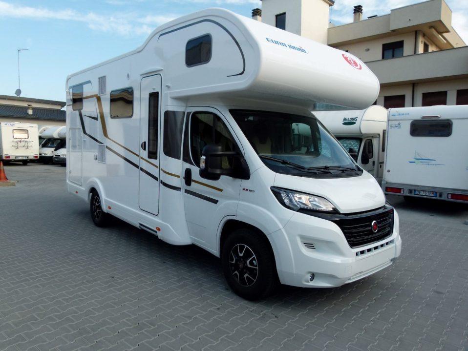 Eura Mobil Activa One 690HB ponta consegna transweit como