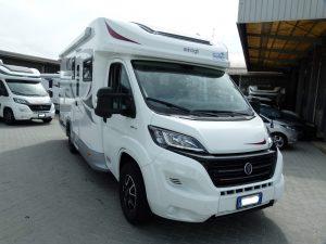 Elnagh Baron 560 camper semintegrale garage usato garantito in vendita presso Transweit concessionario e assistenza como