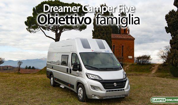 Dreamer camper five il van per la famiglia in pronta consegna como