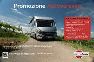 Promozione Burstner gamma 2021 motorhome, camper, van e caravan presso transweit concessionaria e assistenza camper e caravan como
