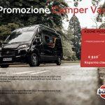promozione van burstner presso transweit concessionaria e assistenza camper caravane motorhome como