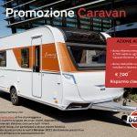 promozione caravan burstner in concessionaria presso transweit como