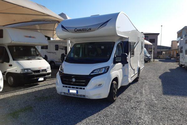 Chausson Flash C656 camper mansardato usato 7 posti vendita presso Transweit concessionario e assistenza camper e caravan Como
