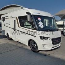 Eura Mobil Integra Line 720EB motorhome con letti gemelli e ampio garage in coda pronta consegna presso transweit concessionario e assistenza como