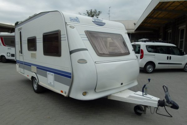 Hobby De Luxe 440 caravan usata vendita presso Transweit concessionario camper e caravan Cantu