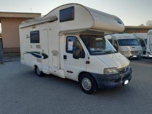 Mc Louis Glen 430VV camper mansardato con letti a castello vendita presso Transweit concessionario e assistenza Como