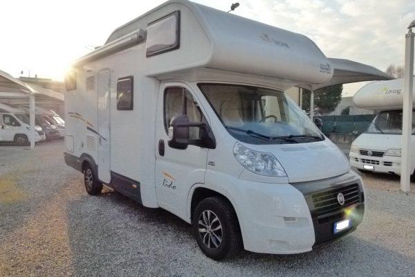 Sun Living Lido A11 camper mansardato 6 posti usato vendita Como
