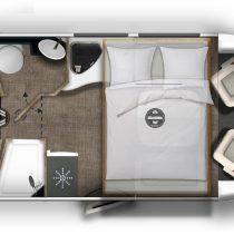 Eura Mobil Profila RS 720EF camper semintegrale con letti gemelli pronta consegna Transweit concessionario e assistenza Como