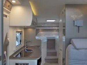 Bürstner Travel Van 620 camper van semintegrale con letti gemelli e garage pronta consegna Transweit concessionario e assistenza Como