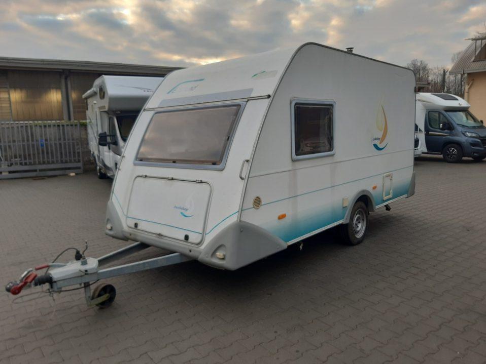 eifelland 400 caravan usata 4 posti vendita como presso transweit concessionario e assistenza camper e caravan