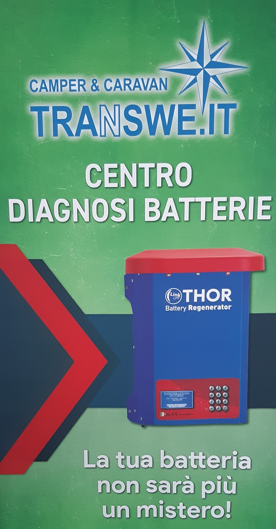 thor centro diagnostico batterie camper
