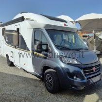 Bürstner 20-Twenty camper semintegrale con letti gemelli e ampio garage in coda in pronta consegna presso transweit concessionario e assistenza como