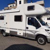 EVM System Pascia' 480I camper mansardato usato letto castello usato vendita Como presso Transweit concessionario e assistenza