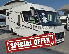 eura mobil integra line 720eb motorhome pronta consegna letti gemelli presso transwwei concessionario e assistenza camper como