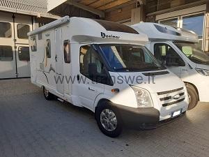 Benimar Tessoro 440 camper semintegrale garage usato vendita como presso transweit