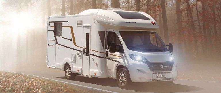 Eura Mobil Profila RS 695EB camper semintegrale letti gemelli occasione pronta consegna transweit concessionario como
