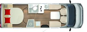 Bürstner LyseoPrivilege 736G camper semintegrale con letto nautico usato garantito in vendita presso transweit concessionario e assistenza como