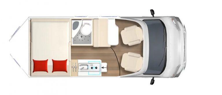 bürstner campeo 450 van compatto con tetto pop up in pronta consegna presso transweit concessionario e assistenza como
